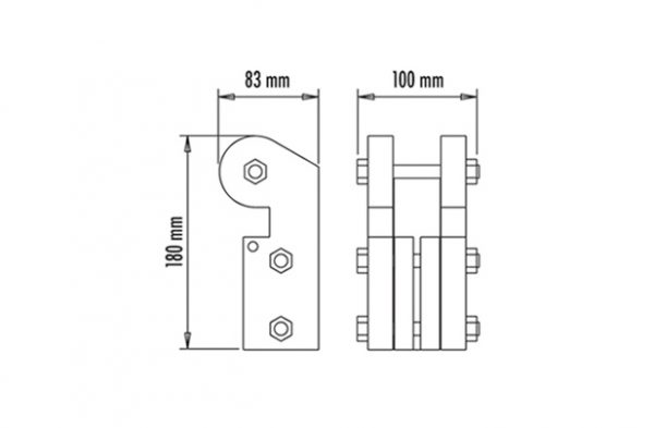 Double Side Member Clamp Spec