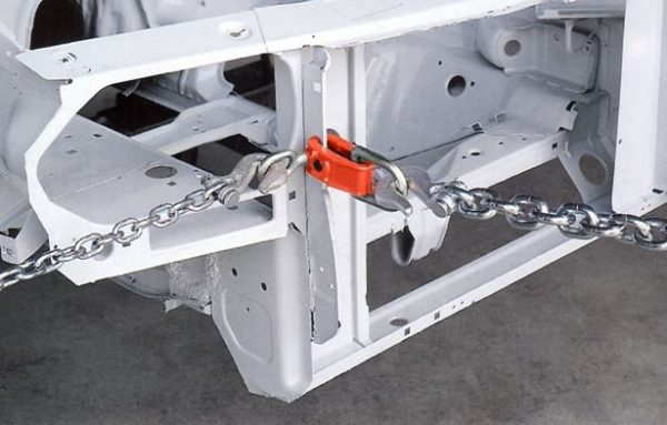 Forged Midget Clamp Application