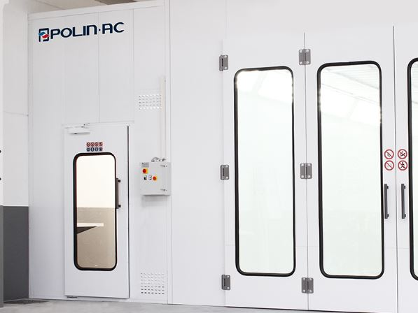 Polin Paint Mixing Room with Prima Booth