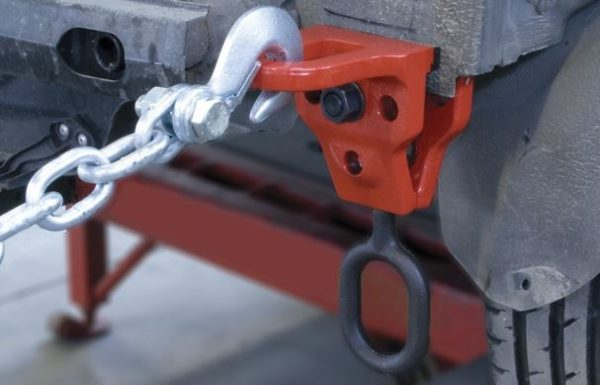 Right Angle Clamp Application
